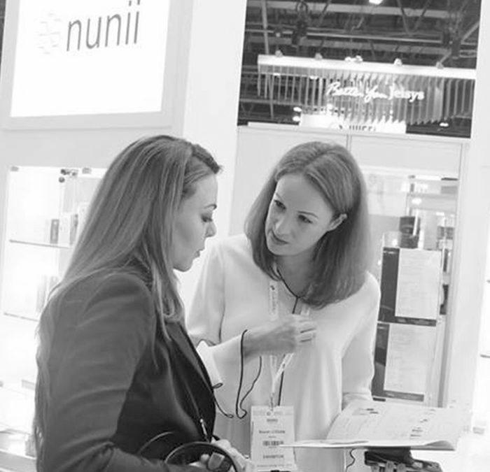 NUNII presents at Dubaï World Dermatology Congress